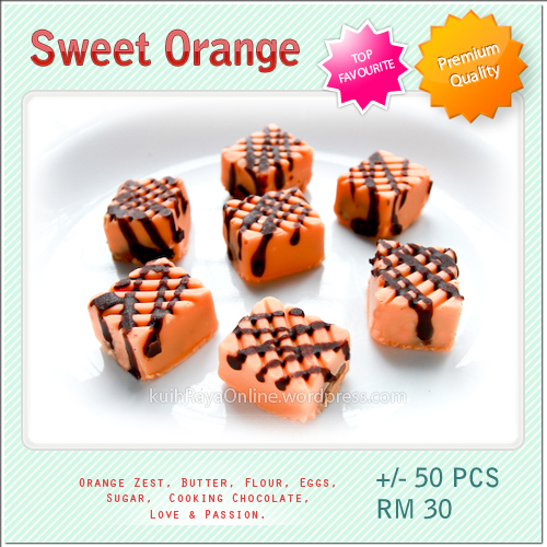 Kuih Raya - Sweet Orange